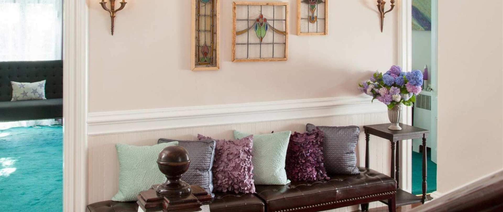 Catherine Foyer | Admiral Sims House Bed & Breakfast, Newport RI