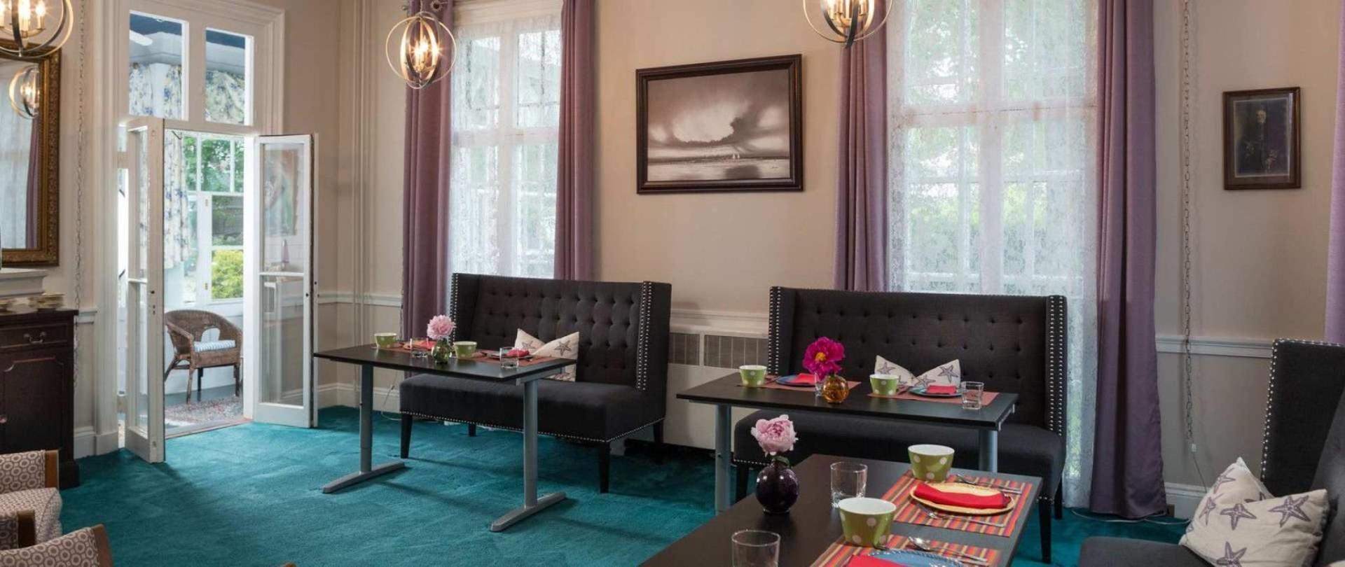Catherine Dining Room Catherine Street B&B | Admiral Sims House Bed & Breakfast, Newport RI
