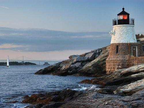 Lighthouse | Admiral Sims House Vacation Rental, Newport Rhode Island