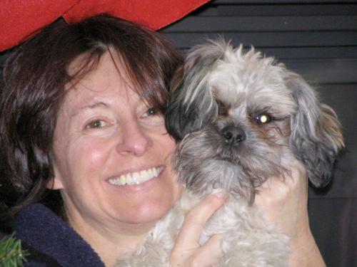 Woman Holding a Dog | ADMIRAL SIMS B&B, Newport Rhode Island