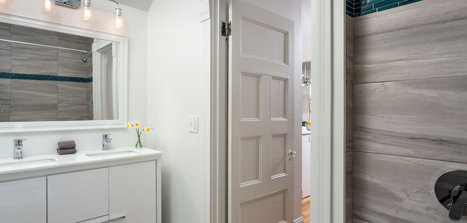 1BR Apartment Bathroom | ADMIRAL SIMS B&B, Newport Rhode Island