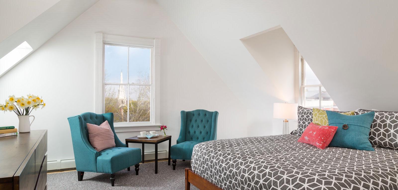 2BR Apartment Bedroom | ADMIRAL SIMS B&B, Newport Rhode Island