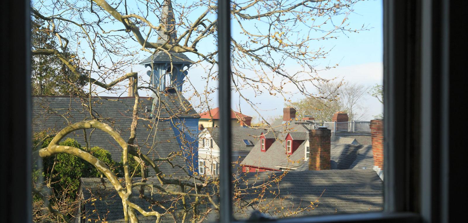 2BR Apartment Window View | ADMIRAL SIMS B&B, Newport Rhode Island