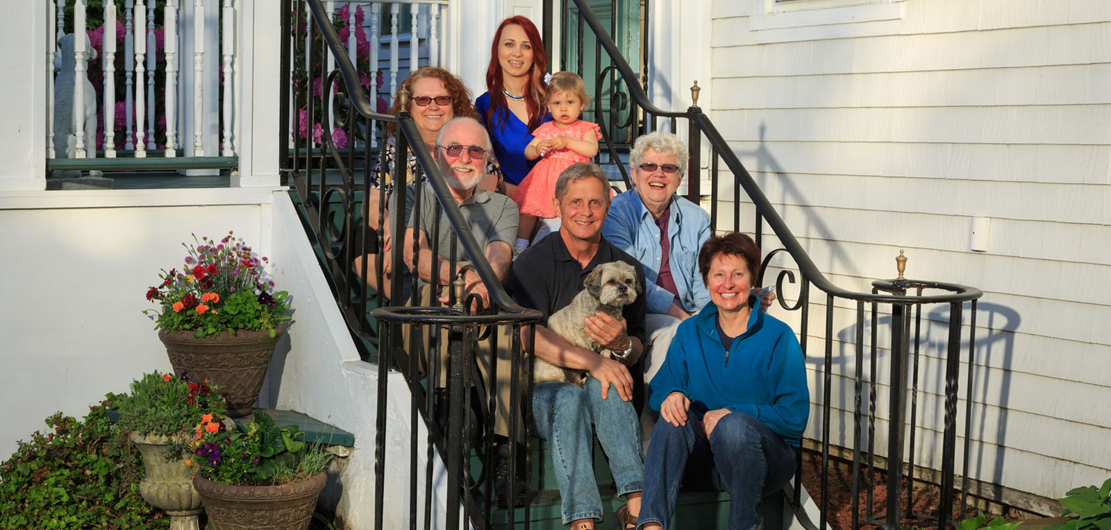 Family Picture | ADMIRAL SIMS B&B, Newport Rhode Island