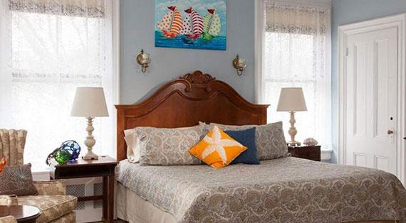 King Private Bath Room | ADMIRAL SIMS B&B, Newport Rhode Island