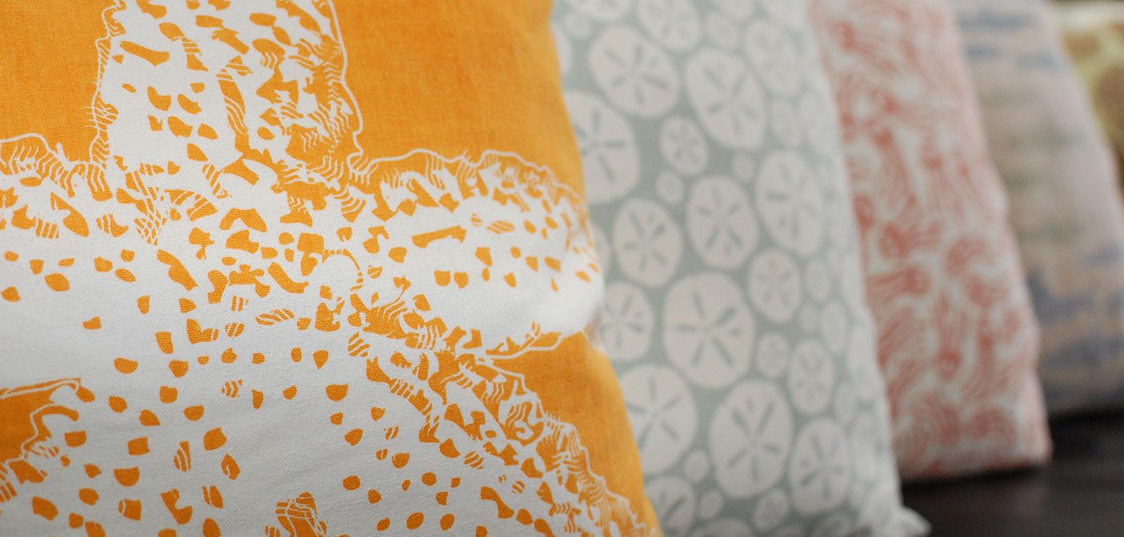 King Private Bath Starfish Pillow | ADMIRAL SIMS B&B, Newport Rhode Island