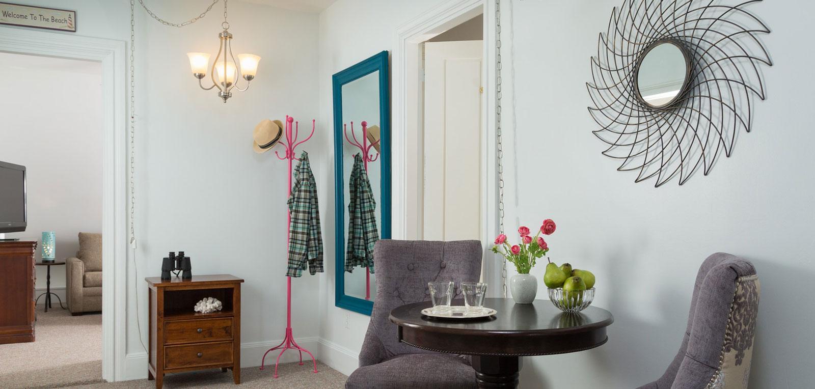 Admiral Sims' Suite Livingroom | ADMIRAL SIMS B&B, Newport Rhode Island