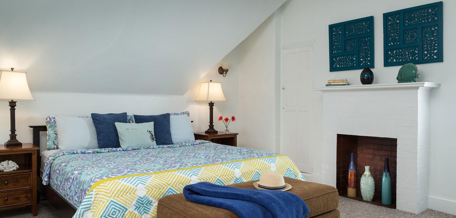 Admiral Sims' Suite Bedroom | ADMIRAL SIMS B&B, Newport Rhode Island